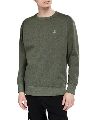 Men's Powerblend Fleece Crewneck Pullover