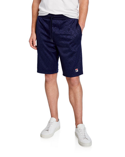 Men's Bailey Logo-Print Tonal Shorts