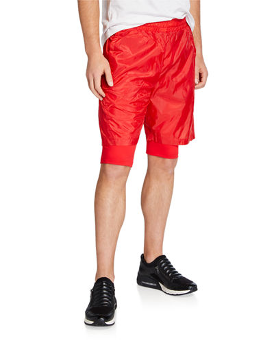 Men's Marco Mesh Logo Performance Shorts