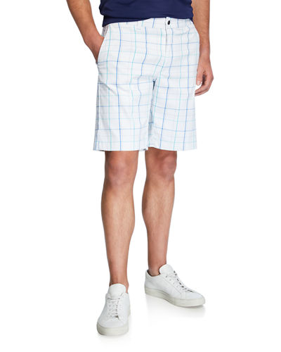 Men's Fashion Plaid Shorts