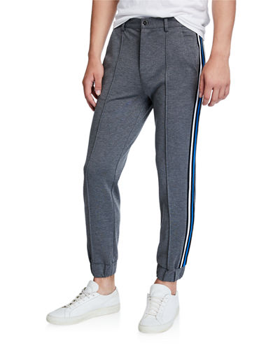 Men's Joggers w/ Side Stripe
