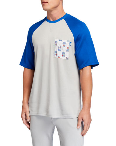 Men's Festival Colorblock Raglan Lounge T-Shirt