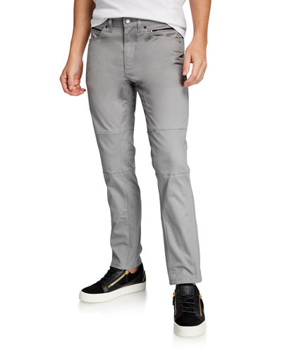 Men's Slim-Fit Utility Pants
