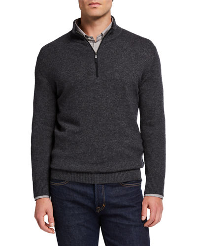 Men's Cashmere Speckled Sweater