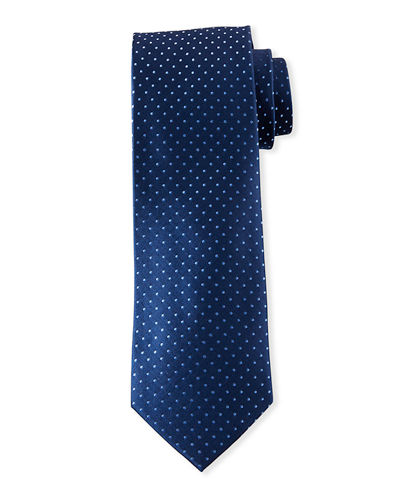 Men's Pin Dot Silk Tie
