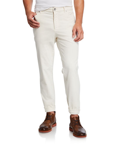 Men's Five-Pocket Corduroy Pants