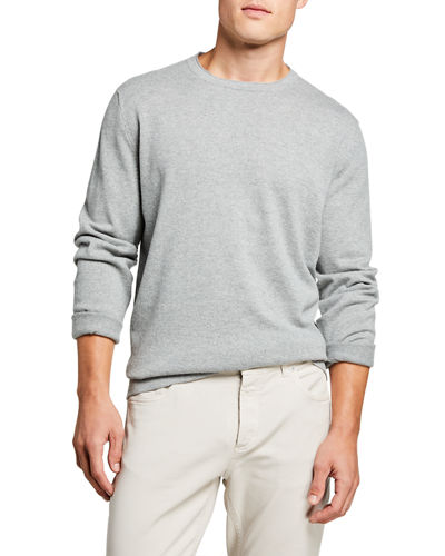 Men's Cashmere Long-Sleeve Sweater