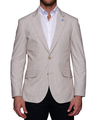 Men's Stretch-Cotton Sportcoat