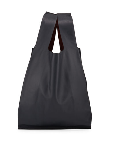 Men's Leather Tote Bag