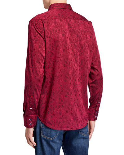 Men's Hanging Gardens Long-Sleeve  Woven Shirt