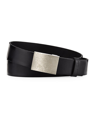 Men's Conrad Ratchet Leather Belt