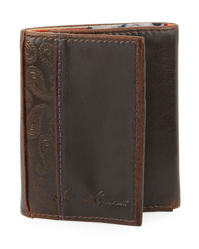 Men's Myron Tri-Fold Leather RFID Wallet