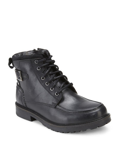 Men's Lagan Apron Toe Leather Boots