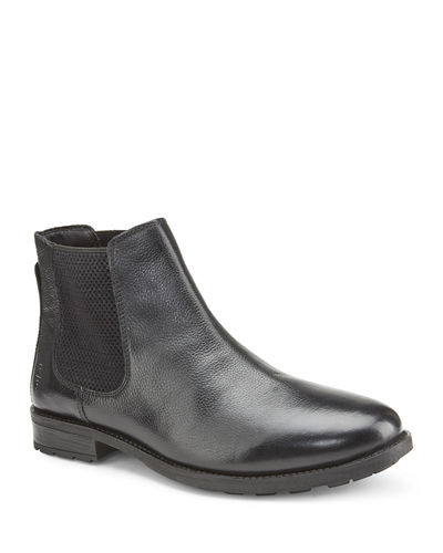 Men's Merlin Gored Leather Chelsea Boots