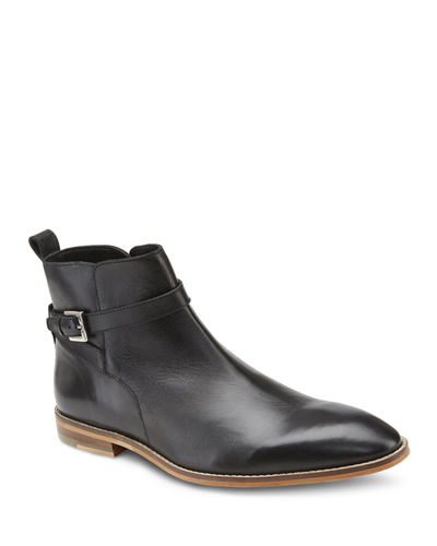 Men's Malik Leather Buckle Chukka Boots