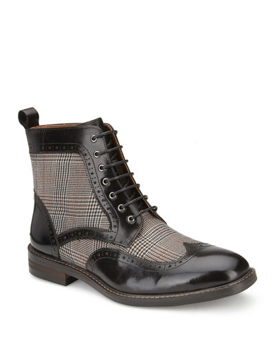 Men's The Helidor Plaid Dress Boots