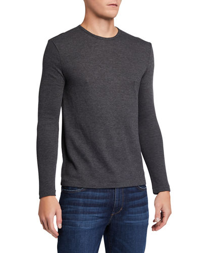 Men's Broken Rib Long-Sleeve Shirt