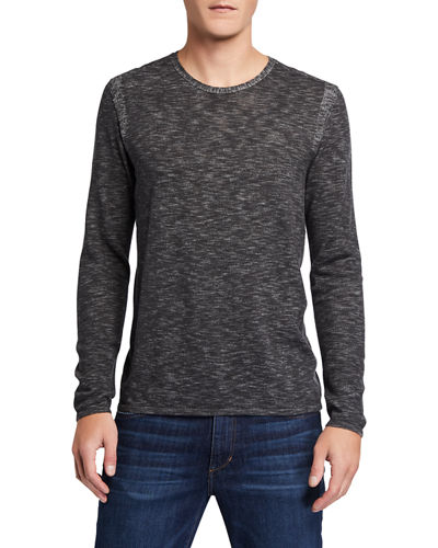 Men's Long-Sleeve Slub Jersey T-Shirt