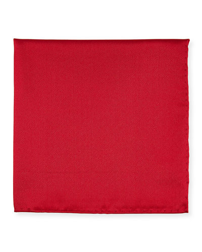 Men's Silk Pocket Square