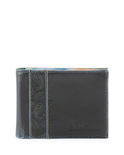 Men's Lagos Slim Bi-Fold Leather Wallet