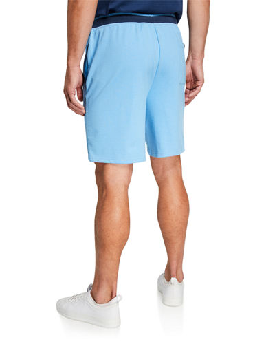 Men's French Terry Logo Lounge Shorts