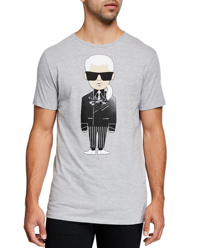 Men's Karl Character Print T-Shirt