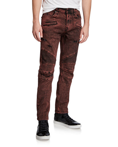Men's Blinder Biker Faded Skinny Jeans
