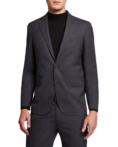 Cole Haan Men's Wool-Blend Two Piece Suit