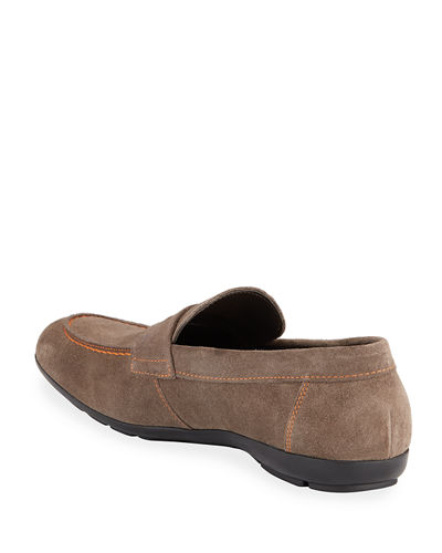 Benito Suede Driver Loafer