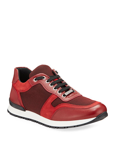 Modena Mixed Media Trainer Sneakers