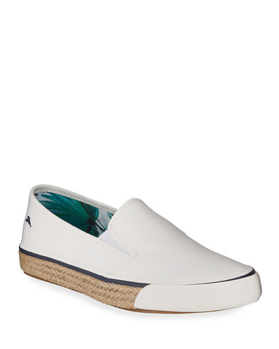 Men's Pascale Leather Slip-On Sneakers