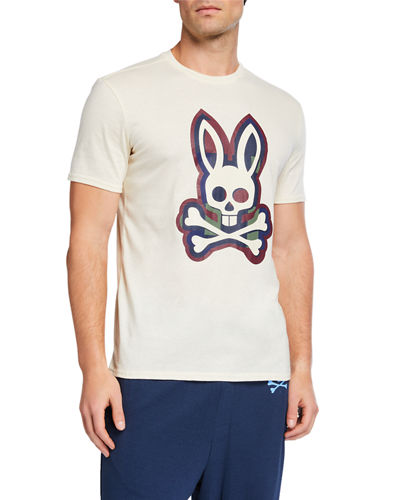Men's Multicolor Bunny Crewneck Tee
