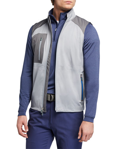 Men's Calgary Colorblock Stretch Shower Vest