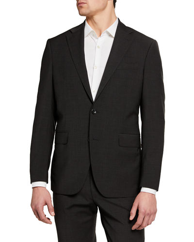 Men's Travel Ready Wool-Blend Suit Separate Jackets