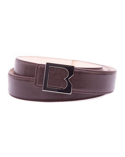Men's Grainy Leather Belt