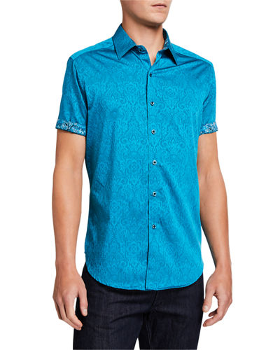 Men's Equinox Short-Sleeve Button-Down Shirt