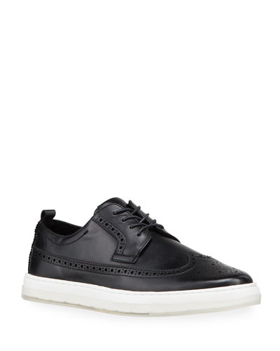 Calix 20 Brogue Leather Sneakers