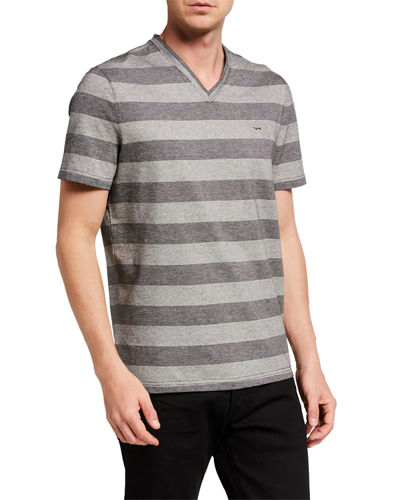 Men's Tipped Stripe T-Shirt