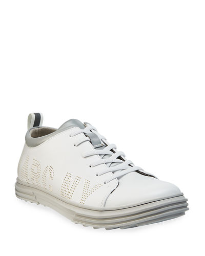 Andrew Marc Men's MNY Perforated Sneakers