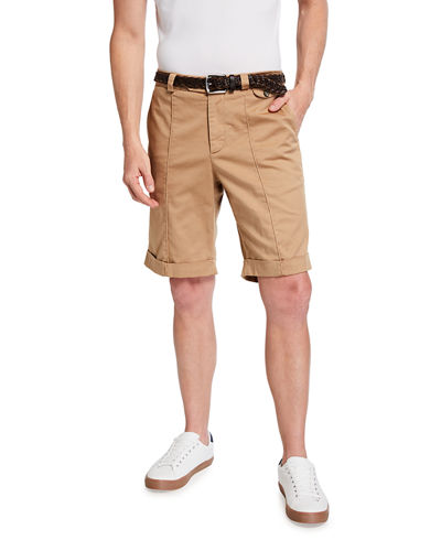 Men's Traditional Fit Bermuda Shorts