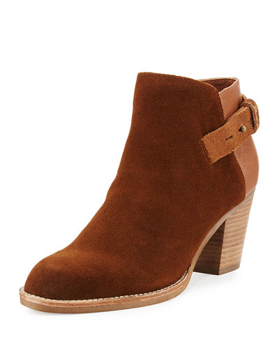 Jae Leather Ankle Boot