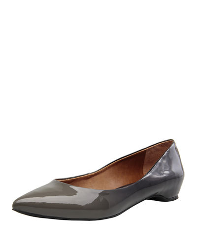 Justice Patent Leather Flat