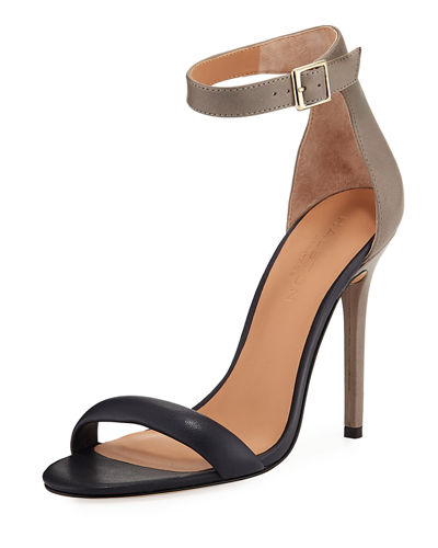 Ester Colorblock High-Heel Sandal