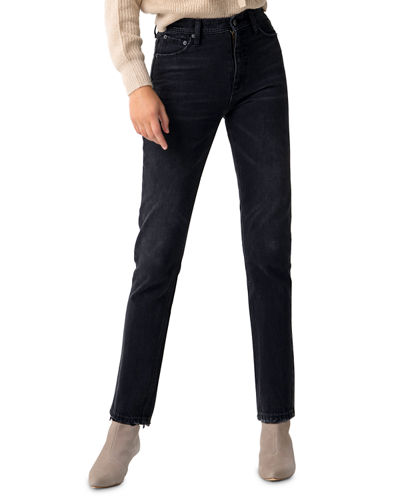Piper High-Rise Straight Jeans