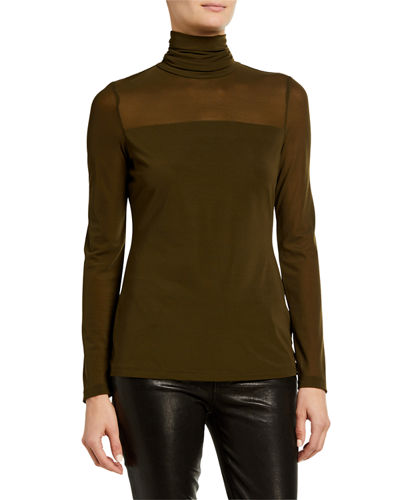Key Item Turtleneck Top