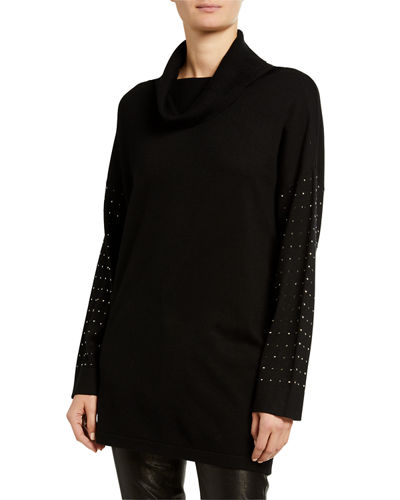 Long-Sleeve Drop Shoulder Soft Drop Top