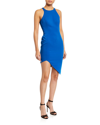 Gallagher Asymmetric Mini Dress