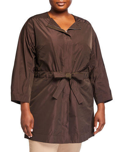 Plus Size Stephania Empirical Tech Cloth Jacket
