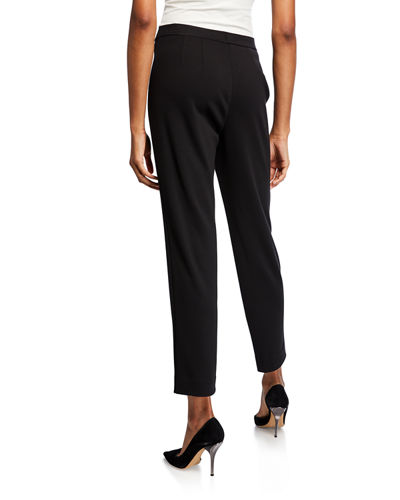 Ponte High-Rise Ankle Pants