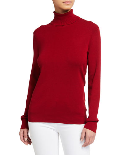Turtleneck Long-Sleeve Sweater